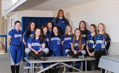 The team picture of JV Softball.