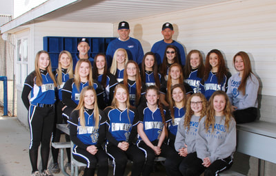 The team picture of Varsity Softball.